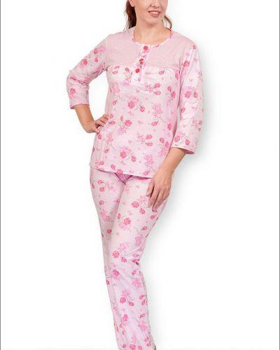 Пижама с брюками на пуговицах пижамный Грандсток
