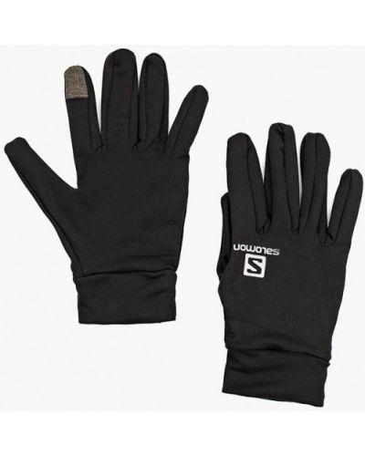 Перчатки - черные Salomon