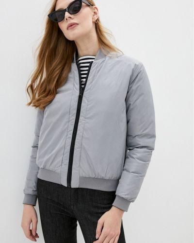 Теплая черная зимняя куртка Love Moschino