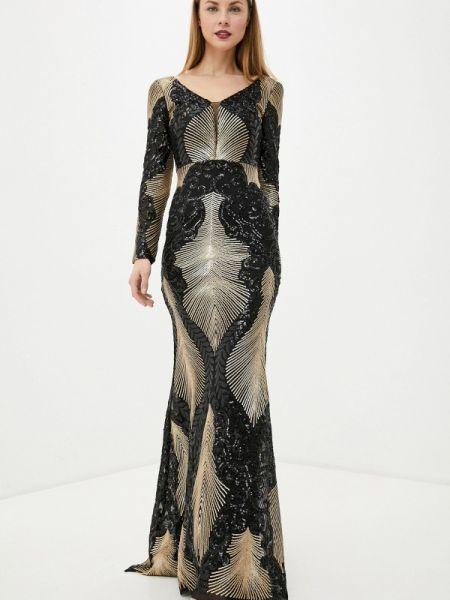 Платье прямое черное Soky & Soka
