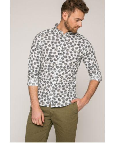 Рубашка хлопковая с узором Only & Sons
