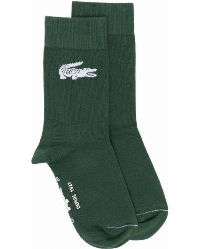 Хлопковые носки - зеленые Lacoste