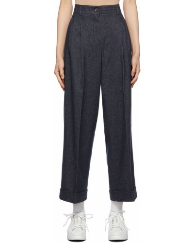 Spodnie bawełniane S Max Mara