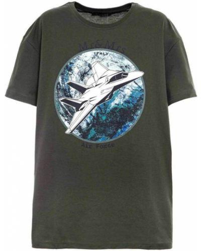 Zielona t-shirt Mr&mrs Italy