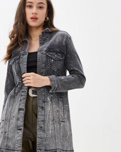 Джинсовая куртка - черная Whitney