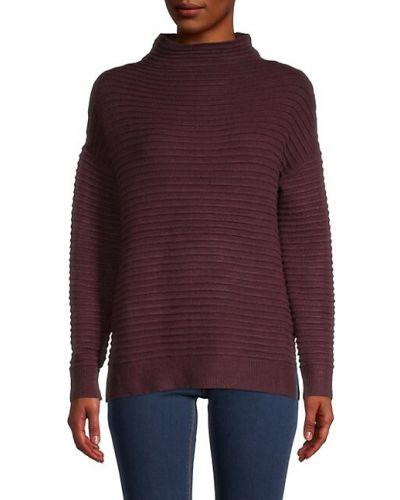 Czerwony długi sweter z akrylu z długimi rękawami Beach Lunch Lounge