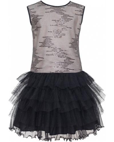 Платье однотонное с вырезом Sly