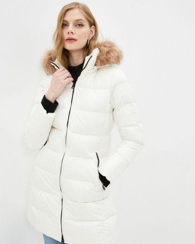 Белая куртка Calvin Klein