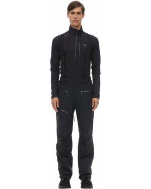 Czarne spodnie z paskiem Millet