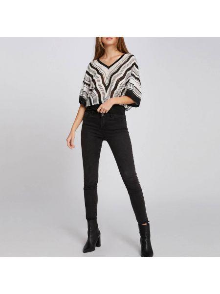 Пуловер с V-образным вырезом из вискозы Morgan
