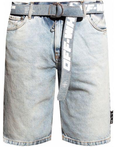 Białe jeansy z niskim stanem casual Off-white