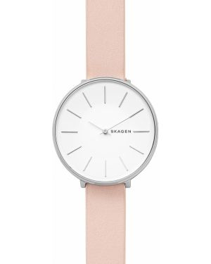 Zegarek różowy srebrny Skagen