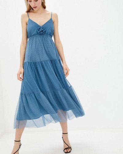 Сарафан - голубое Genevie