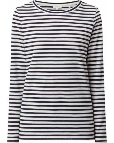 Bluzka w paski - niebieska S.oliver Red Label