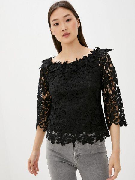 Блузка кружевная черная By Swan