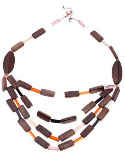 Ожерелье коричневый Honey