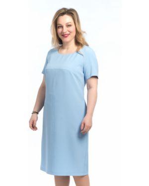 Повседневное платье мини - голубое Modellos