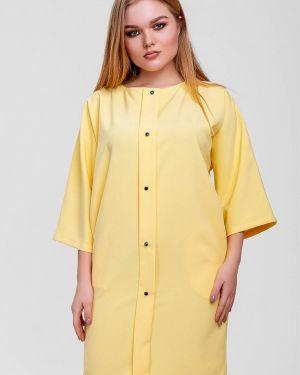Платье желтый Sfn