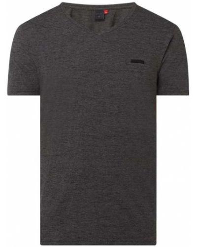 T-shirt bawełniany z dekoltem w serek Ragwear