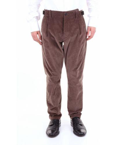 Spodnie klamry z aksamitu Messagerie