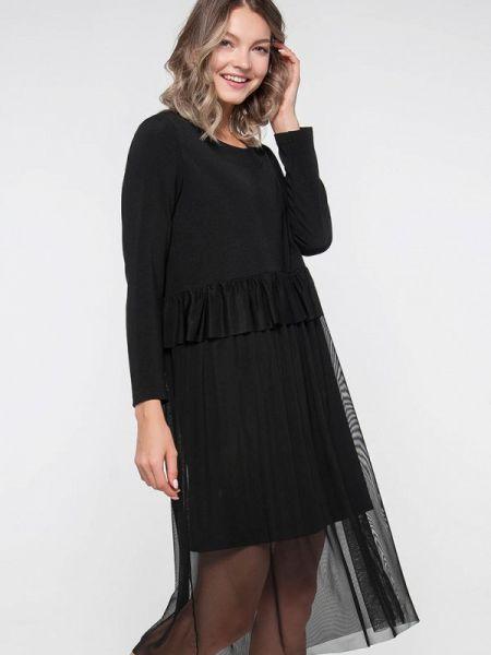 Платье - черное Лимонти