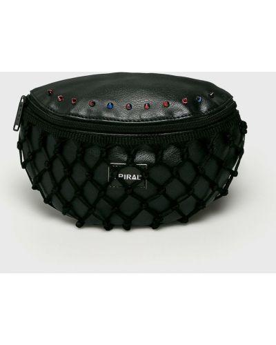 Поясная сумка текстильная с шипами Spiral