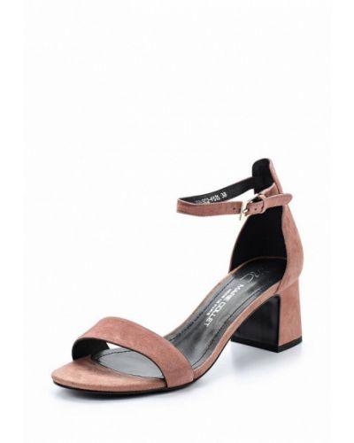 Розовые босоножки на каблуке Marie Collet