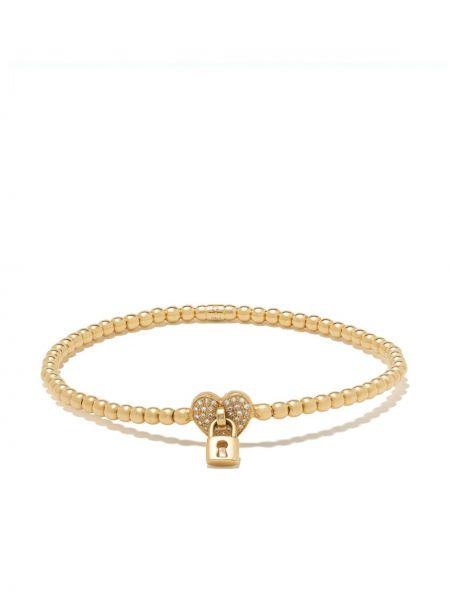 Bransoletka ze złota z diamentem żółty Monan
