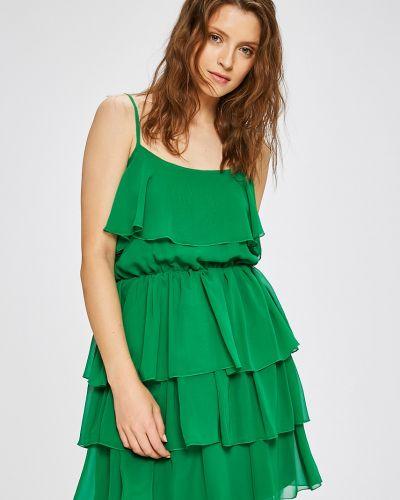 Платье мини с поясом на бретелях Trendyol
