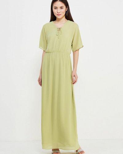 Зеленое платье Mango