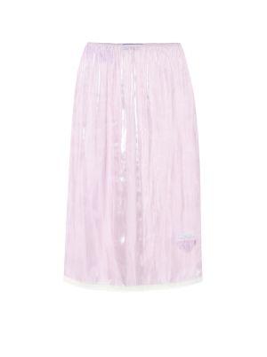 Юбка фиолетовый пачка Prada