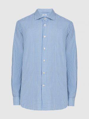 Рубашка - синяя Kiton