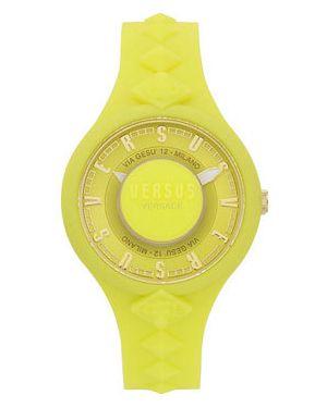 Кварцевые часы желтый Versus