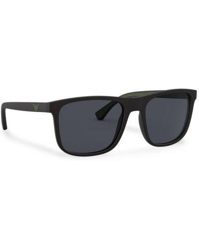 Czarne okulary Emporio Armani