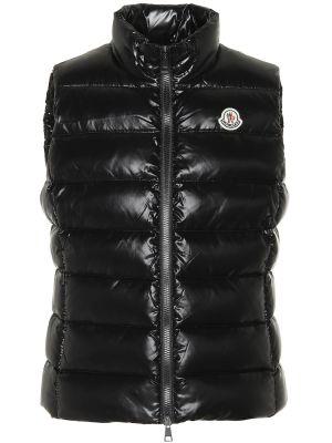 Черная жилетка Moncler