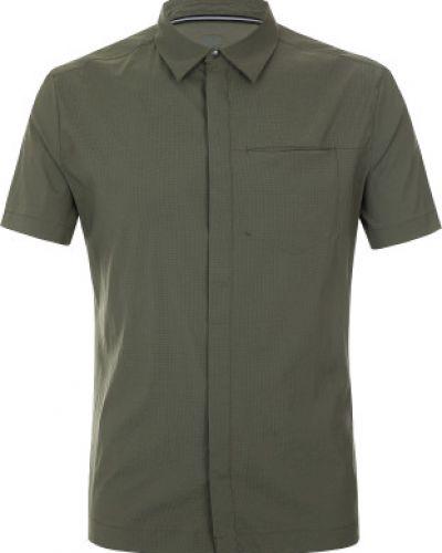 Рубашка с карманами кожаная Jack Wolfskin