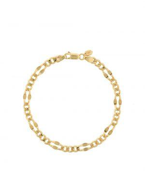 Czarna złota bransoletka ze złota pozłacana Maria Black