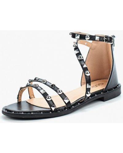 Черные сандалии Go-go