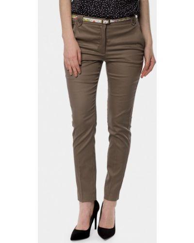 Коричневые брюки Mr520