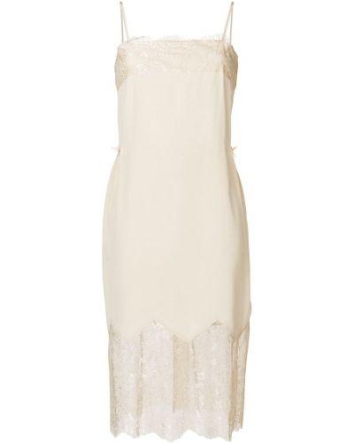 Платье на бретелях шелковое Twin-set