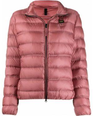 Куртка розовая на молнии Blauer