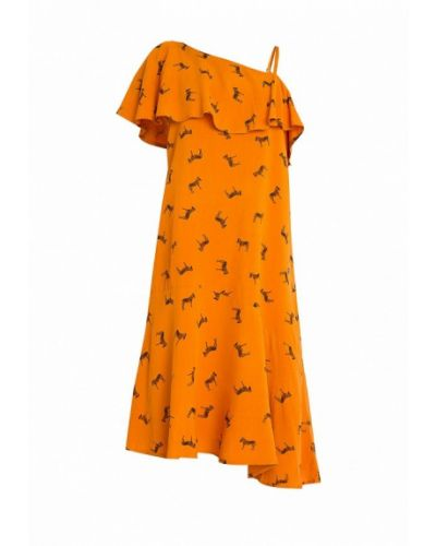 Оранжевое платье Finn Flare