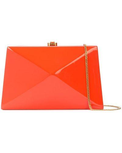 Оранжевая сумка на цепочке Rocio