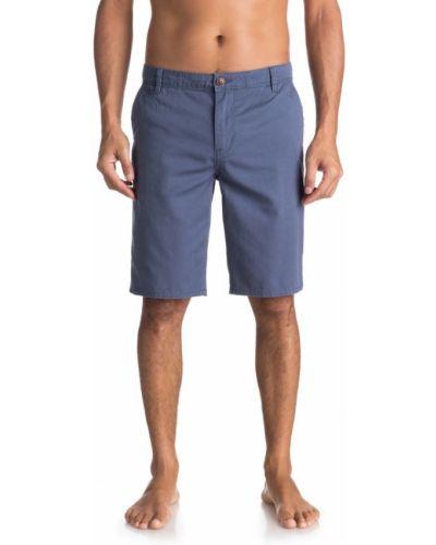 Синие шорты легкие Quiksilver