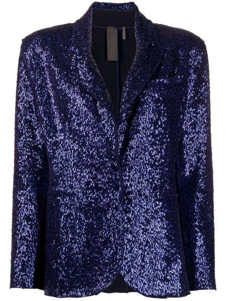 Куртка с пайетками с карманами Norma Kamali