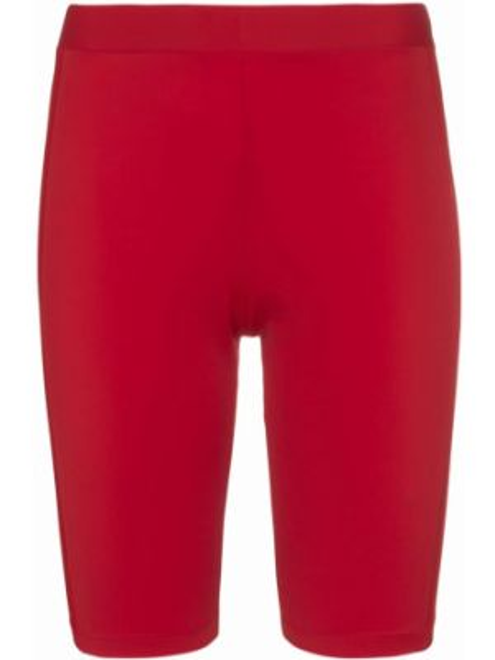 Облегающие красные спортивные шорты Fantabody