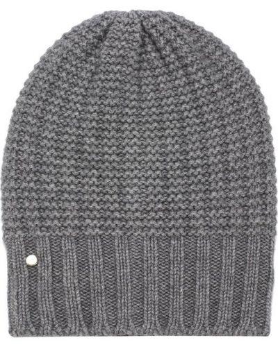 Вязаная шапка бини кашемировая Emporio Armani