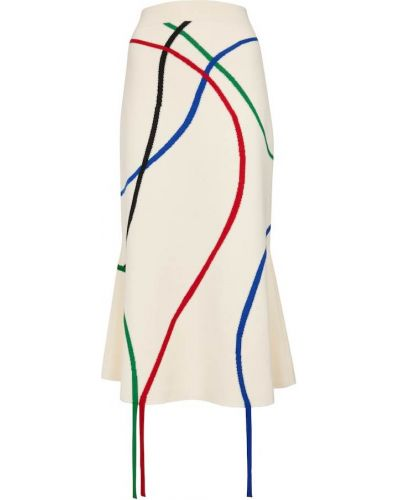 Spódnica kaskadowa - biała Loewe