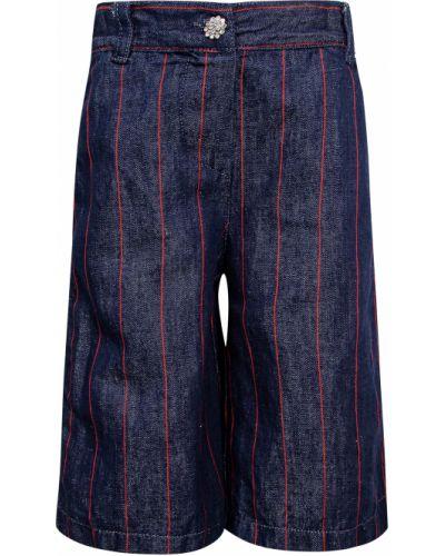Хлопковые синие брюки Elsy