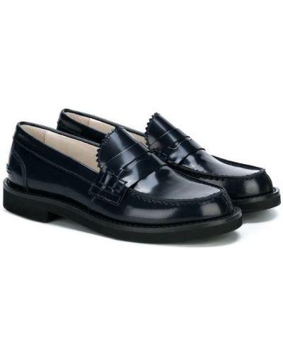 Лоферы синий для обуви Montelpare Tradition